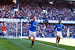 12.05.2019 Rangers v Celtic: Scott Arfield celebrates his goal