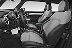 Front seat view of2015 MINI MINI COOPER S 3 Door Hatchback 2WD Front Seat car photos