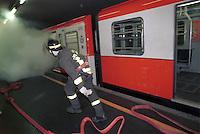 - exercise of National Fire Department and Civic Protection in the Milan subway in case of casualty or terrorist attack....- esercitazione di Vigili del Fuoco e Protezione Civile nella metropolitana milanese in caso di incidente o attentato terroristico