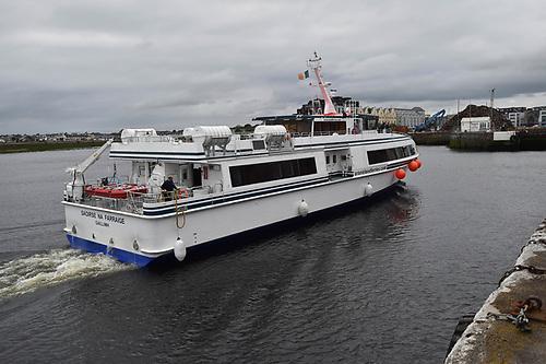 The 40-metre vessel Saoirse na Farraige