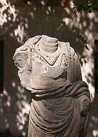 Remains of a Roman statue near Al-Hamidiyah Souq, Damascus, Syria