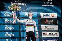 World Champion Julian Alaphilippe (FRA/Deceuninck - QuickStep) wins stage 2 from Camaiore to Chiusdino (202km)<br /> <br /> 56th Tirreno-Adriatico 2021 (2.UWT) <br /> <br /> ©kramon