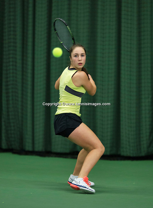Rotterdam, The Netherlands, March 11, 2016,  TV Victoria, , NOJK 12/16 years, Ernise Yigit<br /> Photo: Tennisimages/Henk Koster