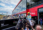 May 14, 2021: Scenes from an undercard race Black-Eyed Susan Day at Pimlico Race Course in Baltimore, Maryland. Scott Serio/Eclipse Sportswire/CSM