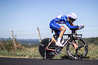 Thibaut Pinot (FRA/Groupama FDJ)<br /> <br /> Stage 13: ITT - Pau to Pau (27.2km)<br /> 106th Tour de France 2019 (2.UWT)<br /> <br /> ©kramon