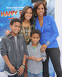 Holly Robinson Peete and kids at The Warber Bros. Pictures'  World Premiere of HAPPY FEET TWO held at The Grauman's Chinese Theatre in Hollywood, California on November 13,2011                                                                               © 2011 Hollywood Press Agency