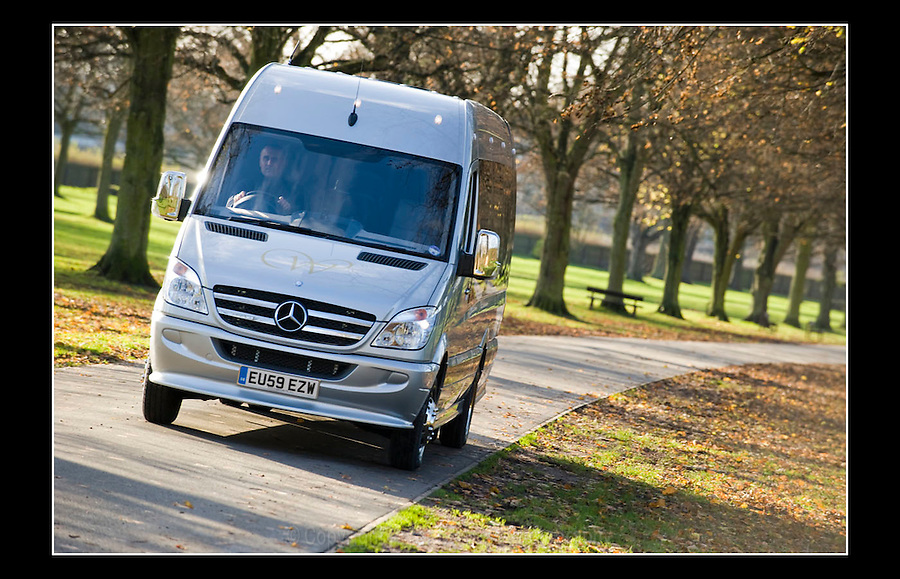 Mercedes Van - 30th November 2009