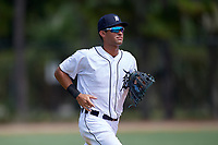 Detroit Tigers Riley Greene (13) during an Instructional League instrasquad game on September 20, 2019 at Tigertown in Lakeland, Florida.  (Mike Janes/Four Seam Images)