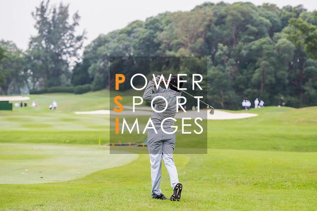 S.S.P. Chawrasia of India tees off during the day three of UBS Hong Kong Open 2017 at the Hong Kong Golf Club on 25 November 2017, in Hong Kong, Hong Kong. Photo by Marcio Rodrigo Machado / Power Sport Images