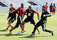 DC United vs Training session March 11 2011