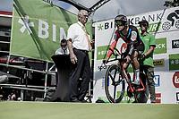 Greg Van Avermaet (BEL/BMC) ready to start his TT.<br /> <br /> Binckbank Tour 2018 (UCI World Tour)<br /> Stage 2: ITT Venray (NL) 12.7km