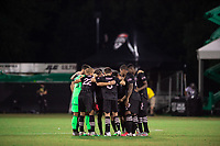 LAKE BUENA VISTA, FL - JULY 14: Inter Miami before the start of the 2nd half during a game between Inter Miami CF and Philadelphia Union at Wide World of Sports on July 14, 2020 in Lake Buena Vista, Florida.