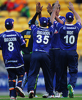 141122 T20 Cricket - Stags v Aces