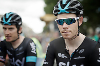 Luke Rowe (GBR/SKY) at the start<br /> <br /> stage 11: Carcassonne - Montpellier (162km)<br /> 103rd Tour de France 2016