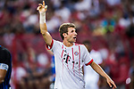 Bayern Munich Forward Thomas Muller gestures during the International Champions Cup match between FC Bayern and FC Internazionale at National Stadium on July 27, 2017 in Singapore. Photo by Marcio Rodrigo Machado / Power Sport Images