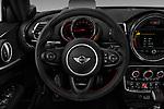 Car pictures of steering wheel view of a 2019 MINI Clubman John-Cooper-Works-ALL4 5 Door Wagon Steering Wheel