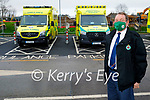 Pat O'Callaghan, Operations Manager for the Kerry National Ambulance Service at UHK