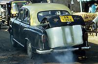 India, Port Blair, ice transport with car HM Ambassador