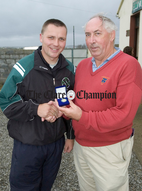 Cusack Cup final replay Lissycasey v Doonbeg at Quilty.Pic Arthur Ellis.