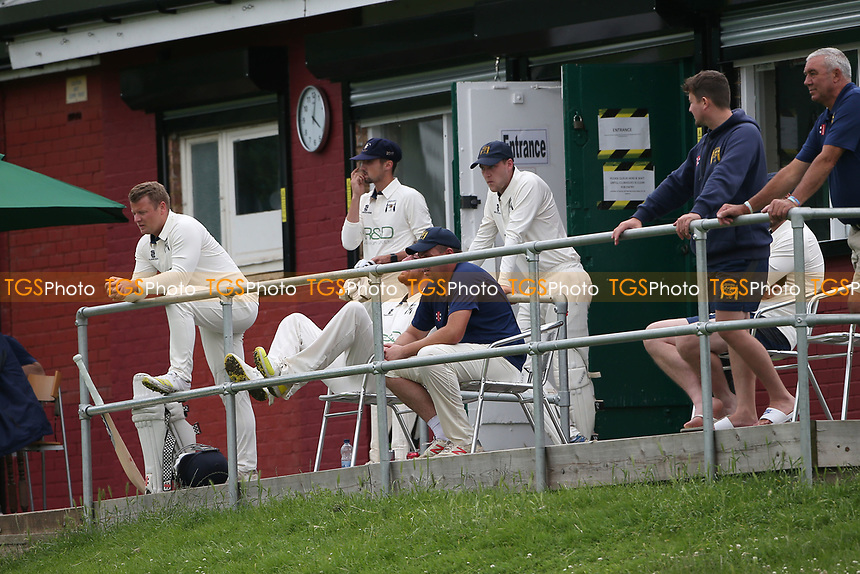 Ardleigh Green players look on during Ardleigh Green & Havering-Atte-Bower CC (batting) vs Newham CC, Hamro Foundation Essex League Cricket at Central Park on 10th July 2021