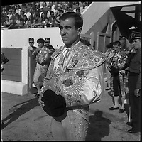. 15 Septembre 1968. Vue de la corrida de Luguillano dans les arènes de Toulouse.