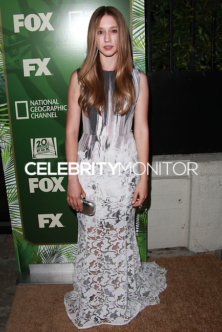 LOS ANGELES, CA, USA - AUGUST 25: Taissa Farmiga at the FOX, 20th Century FOX Television, FX Networks And National Geographic Channel's 2014 Emmy Award Nominee Celebration held at Vibiana on August 25, 2014 in Los Angeles, California, United States. (Photo by David Acosta/Celebrity Monitor)