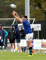 Saturday 10th October 2020 | Ballynahinch vs Queens<br /> <br /> Alexander Clarke during the Energia Community Series clash between Ballynahinch and Queens at Ballymacarn Park, Ballynahinch, County Down, Northern Ireland. Photo by John Dickson / Dicksondigital