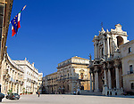 Italy, Sicily, Siracusa: Piazza Duomo and town hall at peninsula Ortygia