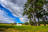Daniel Pearce tees off at the 6th. Day two of the Jennian Homes Charles Tour / Brian Green Property Group New Zealand Super 6s at Manawatu Golf Club in Palmerston North, New Zealand on Friday, 6 March 2020. Photo: Dave Lintott / lintottphoto.co.nz