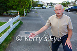 Billy Doyle Killarney who is worried about cyclists cycling on footpaths in Killarney