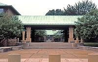 Eliel Saarinen: Kingwood School for Girls, 1931. Cranbrook, Bloomfield Hills, MI. (near Detroit)  Photo '97.