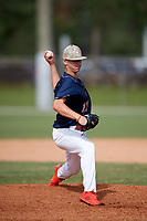 Justin Wrobleski (17) while playing for Team Elite Prime based out of Winder, Georgia during the WWBA World Championship at the Roger Dean Complex on October 21, 2017 in Jupiter, Florida.  Justin Wrobleski is a pitcher / outfielder from Canton, Georgia who attends Sequoyah High School.  (Mike Janes/Four Seam Images)