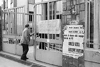 - Imperial Telefunken factory occupied by the workers (Milan, 1975)<br /> <br /> -  fabbrica Imperial Telefunken occupata dagli operai (Milano, 1975)