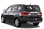 2013 Chevrolet Orlando LTZ+ MPV Angular Rear Stock Photo