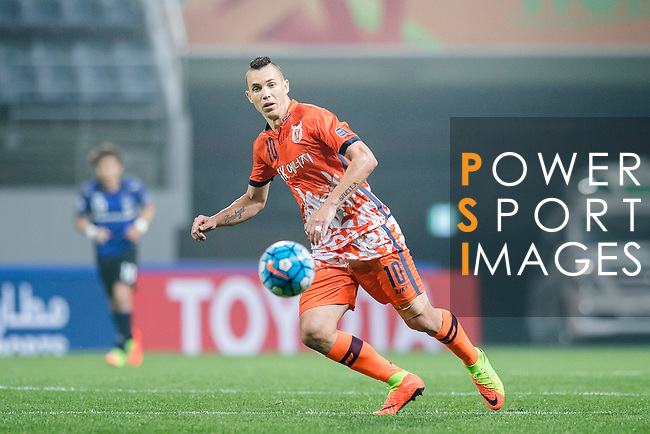 Jeju United Forward Marcelo Toscano in action during the AFC Champions League 2017 Group H match Between Jeju United FC (KOR) vs Gamba Osaka (JPN) at the Jeju World Cup Stadium on 09 May 2017 in Jeju, South Korea. Photo by Marcio Rodrigo Machado / Power Sport Images