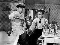 James Cagney and Frank McHugh (L) in THE ROARING TWENTIES