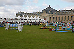 """International Jumping in Chantilly France.In a prestigious place, in front of """"Les Grandes Ecuries"""""""