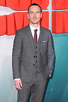 "Michael Fassbender<br /> arriving for the ""Tomb Raider"" premiere at the Vue Leicester Square, London<br /> <br /> ©Ash Knotek  D3385  0/03/2018"