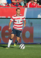 03 June 2012: US Men's National Soccer Team defender Steve Cherundolo #6 in action during an international friendly  match between the United States Men's National Soccer Team and the Canadian Men's National Soccer Team at BMO Field in Toronto..The game ended in 0-0 draw...