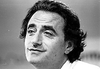 August 28, 1987 File Photo - Montreal (Qc) Canada - French actor, Richard Bohringer at 1987 Montreal  World Film Festival.