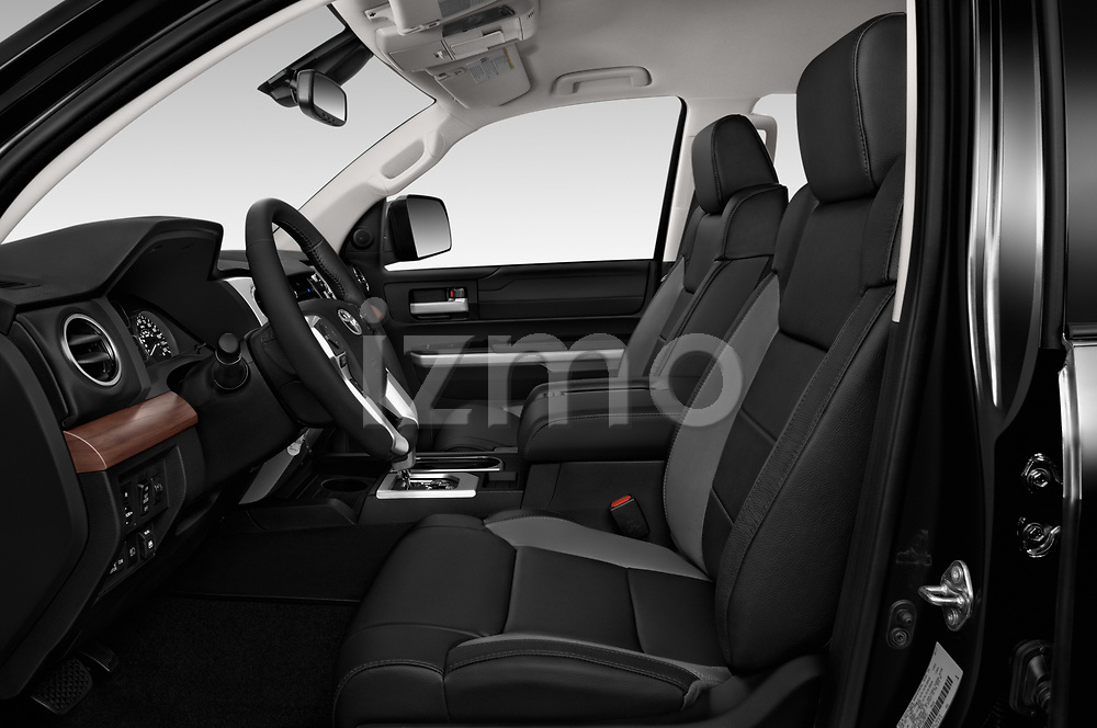 Front seat view of 2020 Toyota Tundra Limited-5.7L-Crew-Max-Short-Bed 4 Door Pick-up Front Seat  car photos
