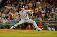 8 June 2012: Washington Nationals pitcher Brad Lidge on the mound against the Boston Red Sox at Fenway Park in Boston, MA. The Nationals defeated the Red Sox 7-4 in the opening game of their 3-game series. Mandatory Credit: Ed Wolfstein Photo