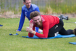 St Johnstone Pre-Season Training...28.06.21<br />Zander Clark and Craig Bryson pictured during the first day of pre-season training<br />Picture by Graeme Hart.<br />Copyright Perthshire Picture Agency<br />Tel: 01738 623350  Mobile: 07990 594431