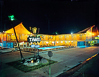 Tahiti Motel, Wildwood Crest, New Jersey. 1960's Retro Photographs