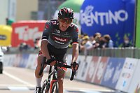22nd April 2021;  Cycling Tour des Alpes Stage 4, Naturns/Naturno to Pieve di Bono, Italy on 22nd; Florian Lipowitz Tirol Cycling Team