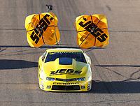 Feb 23, 2019; Chandler, AZ, USA; NHRA pro stock driver Jeg Coughlin Jr during qualifying for the Arizona Nationals at Wild Horse Pass Motorsports Park. Mandatory Credit: Mark J. Rebilas-USA TODAY Sports