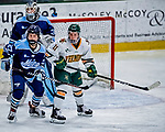 1 December 2018: University of Vermont Catamount Forward Abby Cleary, a Junior from Buffalo, NY, in second period play against the University of Maine Black Bears at Gutterson Fieldhouse in Burlington, Vermont. The Lady Cats defeated the Lady Bears 3-2 in the second game of their 2-game Hockey East series. Mandatory Credit: Ed Wolfstein Photo *** RAW (NEF) Image File Available ***