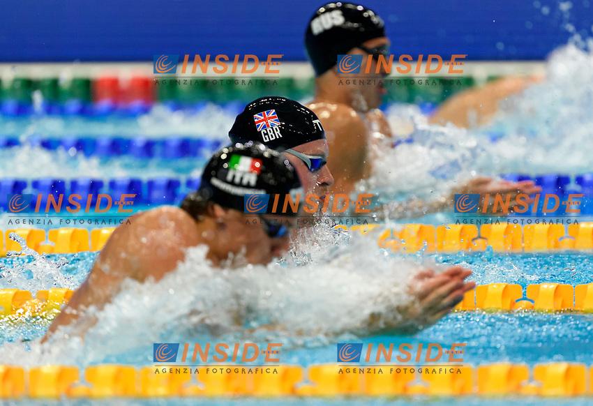 PEATY Adam GBR<br /> 100m Breaststroke Men Semi-Final<br /> Swimming<br /> Budapest  - Hungary  17/5/2021<br /> Duna Arena<br /> XXXV LEN European Aquatic Championships<br /> Photo Giorgio Perottino / Deepbluemedia / Insidefoto