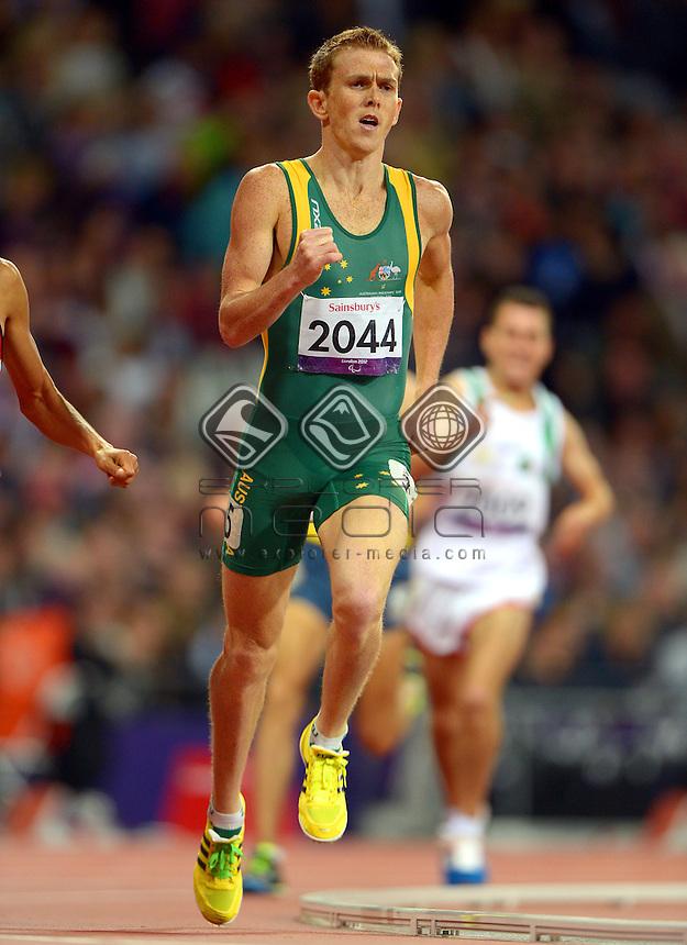 Brad Scott (Bronze) <br /> Athletics: Men's 800m T-37<br /> Olympic Stadium (Saturday 1  Sept)<br /> Paralympics - Summer / London 2012<br /> London England 29 Aug - 9 Sept <br /> © Sport the library / Jeff Crow