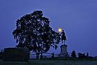 June 22, 2013; Statue of Robert E. Lee at Gettysburg National Military Park.<br /> <br /> Photo by Matt Cashore/University of Notre Dame